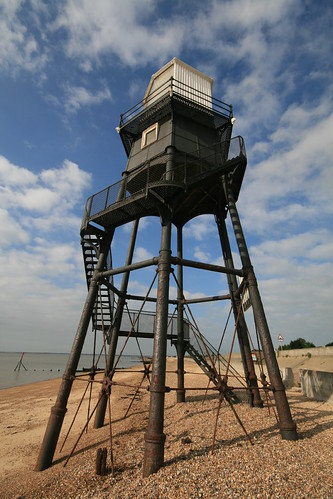 Dovercourt cast iron lighthouses
