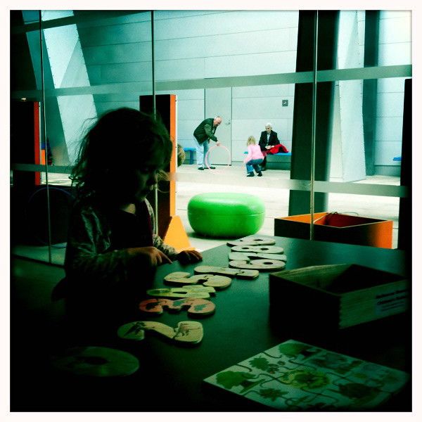 Visiting the Children's Gallery at Melbourne Museum