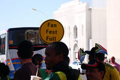 FIFA Fan Fest (warrenski) Tags: geotagged capetown crowds supporters grandparade darlingstreet fifafanfest 2010fifaworldcup eventfull fifafanfestcapetown geo:lat=33926087 geo:lon=18425227 fanfestfull mycitibus