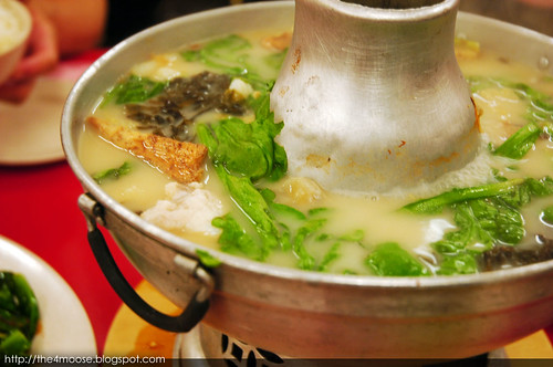 Whampoa Food Street Keng Fish Head Steamboat Eating House - Red Garoupa Steamboat