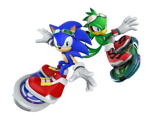 Sonic Free Riders - E3 2010