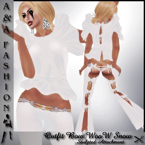 A&A Fashion Outfit Bow WooW Snow