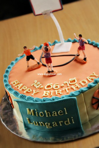 Birthday Cake 'Basketball'