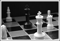 Stalemate (PhotonSphere) Tags: white black game smart set standing table army one trapped fight war king pieces play hand power squares board think group chess royal plan objects competition battle brain move medieval victory player assault tournament intelligence conflict knight leisure choice concept win piece mate rook strategic success defeat checkered strategy isolated struggle decision pawn winning chessboard teamwork checkmate chellange