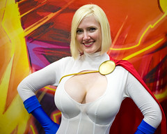 Comic-Con 2011  Power Girl (Onigun) Tags: california costumes summer comics photography sandiego cosplay event socal convention popculture comiccon sdcc sandiegocomiccon sandiegocomicconinternational populararts onig