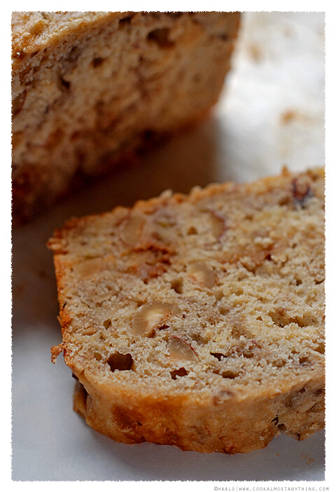 Banana Hazelnut and Caramel Bread | Cook (almost) Anything at Least ...