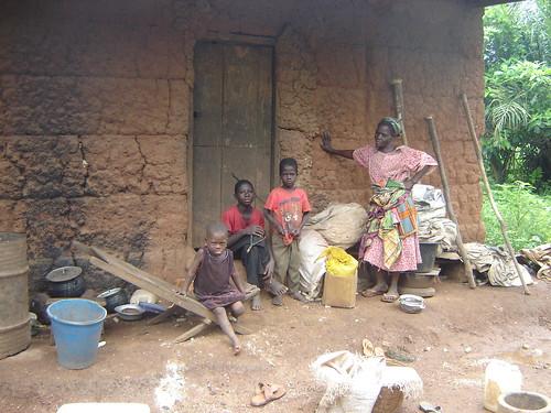 Janet & her grandchildren
