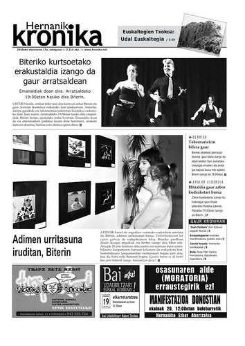 Hernaniko Kronikaren azala