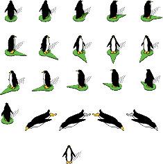 Google Maps Penguins - Peguins