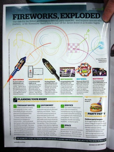 Epic Fireworks - Men's Health Magazine - November 2010