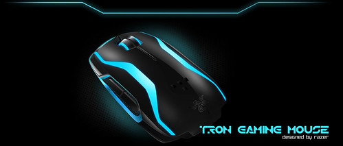 Razer Tron Legacy Keyboard, Mouse and Mouse Mat