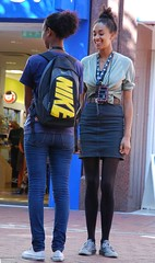 NIKE (Ibrahim D Photography) Tags: street girls smile candid smilinggirl streetcandid