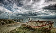 Delta del Ebre (christian&alicia) Tags: old sea clouds port landscape boats mar nikon mediterranean natural sigma delta catalonia catalunya ebro 1020 sant parc hdr tarragona nuvols barques paisatge carles ebre catalogne mediterrani montsi d90 rpita christianalicia