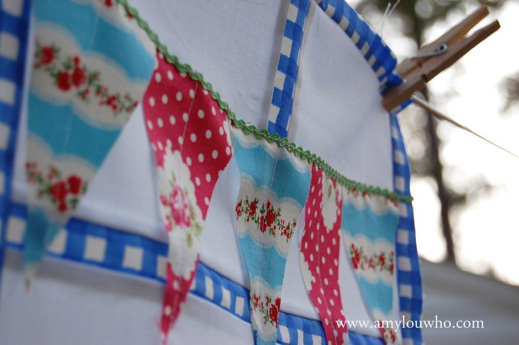 For Tara - bunting detail