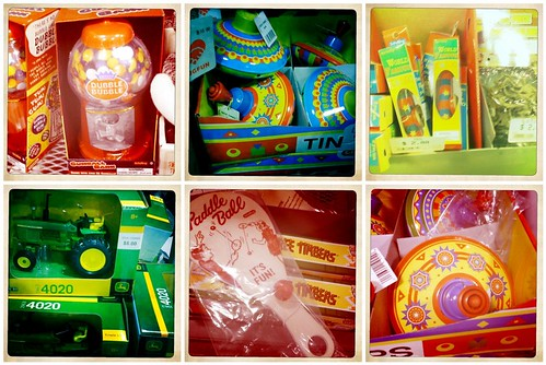 Toys at the Tractor Store taken with my Hipstamatic iPhone app