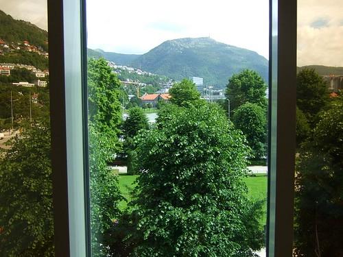Bergen hotel view