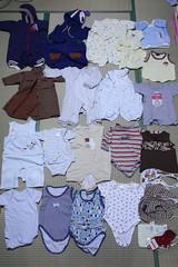 頂いたベビー服(70-80cm)