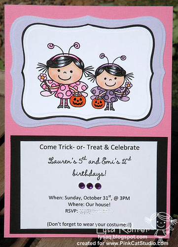 Birthday Fairy invites
