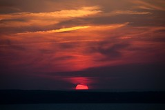Formentera (hunter of moments) Tags: travel sunset red sky orange color beach island mar paradise formentera isla d5000