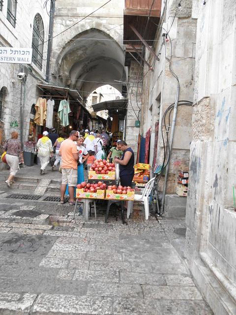 Finding Pom Wonderful in Israel