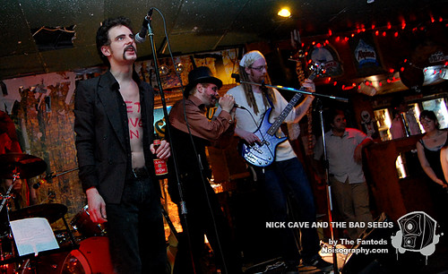 The Fantods as Nick Cave and the Bad Seeds 02