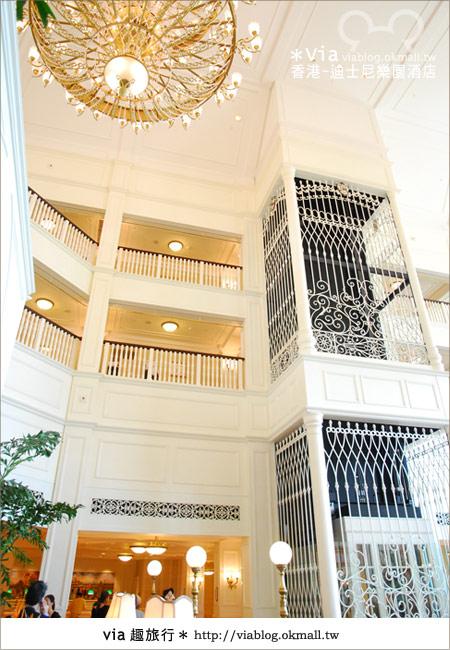【香港住宿】跟著via玩香港(4)~迪士尼樂園酒店(外觀、房間篇)20