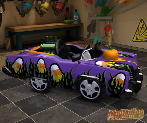 ModNation Racers - Candy Corn Kart