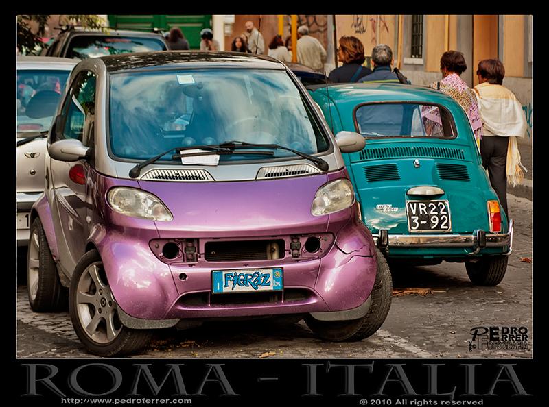 Roma - Dos generaciones de bólidos
