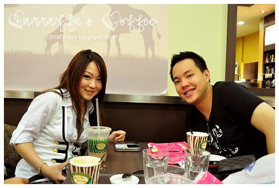 Zarraffa's Coffee: Cynthia and Jefry