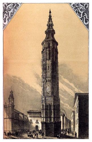 009-Torre inclinada de Zaragoza-Recuerdos y bellezas de España Vol 1-Aragon
