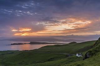 *Isle of Mull @ sunset impression*