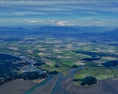 Skagit Valley & Mt. Baker (otterdrivernw) Tags: patchwork farmland farms riverdelta rivers xt2 fujifilmxt2 fujix fujifilm mtbaker laconner skagitvalley skagit aerials