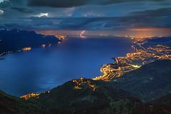 Thunderbolt and Lightning (hapulcu) Tags: lacleman lakegeneva rochersdenaye genfersee leman montreux schweiz suisse suiza svizzera swiss switzerland vaud lake spring