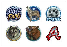 free Silver Fang slot game symbols