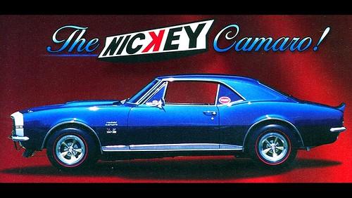 1360x768 wallpaper. 1967 Nickey Camaro 1360x768