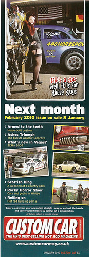 Custom Car January 2010 Coming Next Month