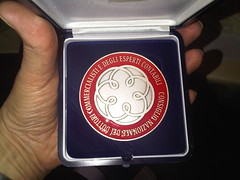 medaglia degli anniversari Cndcec