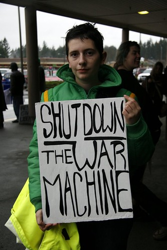 Shut Down the War Machine