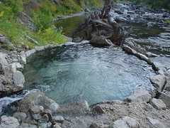 Lost Rocky Canyon Hot Springs
