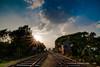 Pakshi HDR (Neerod [ www.shahnewazkarim.com ]) Tags: bridge sun station train tracks rail railway rays bangladesh hdr pakshi hardinge ishwardi gettyimagesbangladeshq2