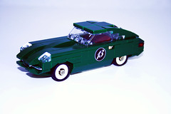 "Jaguar E-type (""Orion Pax"") Tags: lego jaguar etype theloveshack"