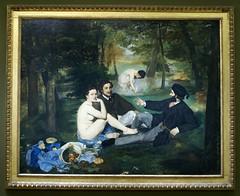 Paris, Muse d'Orsay, Das Frhstck im Grnen von Edouard Manet (Luncheon on the Grass) (HEN-Magonza) Tags: paris musedorsay ledjeunersurlherbe edouardmanet luncheononthegrass dasfrhstckimgrnen