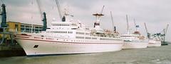 MS Maxim Gorkiy MS Arkona MS Odessa (Aah-Yeah) Tags: cruise ship vessel odessa maxim schiff bremerhaven kreuzfahrt arkona gorkiy