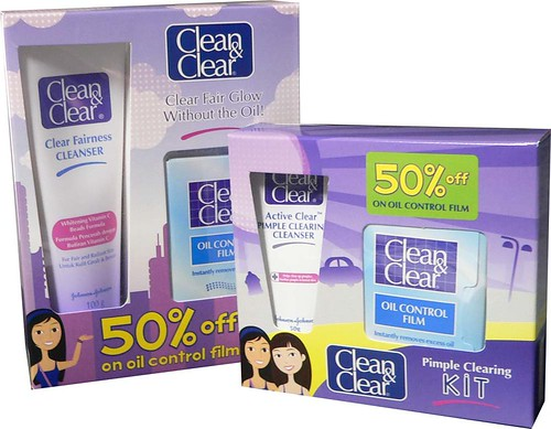 C&C Clear Fair Glow and Pimple Clearing Kit