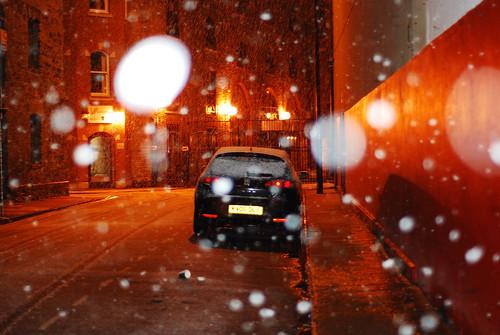 Snow baby!, Denmark Street, Bristol