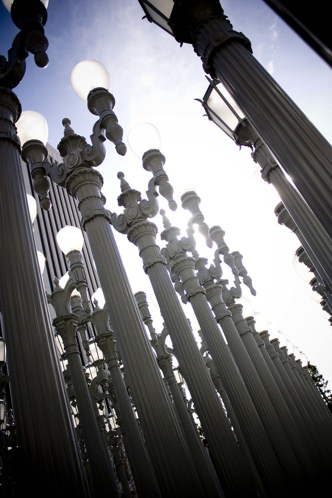 The Street Lamps at LACMA