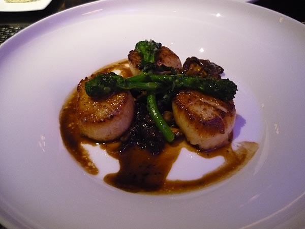 sage roasted day boat scallops