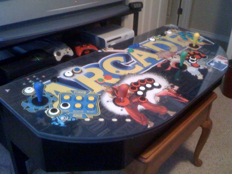 borne arcade 4 joueurs