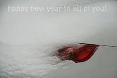 2010 (jolanda r (aka jojoro)) Tags: red white snow beautiful canon kiss porche taillight happynewyear 2010 jojoro