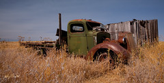Retired For Good (RU4SUN2) Tags: abandoned oregon truck rusty used hardman ghosttowns hardmanoregon